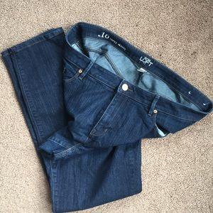 Ann Taylor Loft: Curvy Skinny Jeans